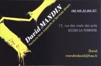 Logo MANDIN David